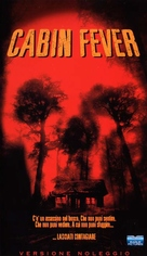 Cabin Fever - Italian DVD movie cover (xs thumbnail)