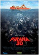 Piranha - Slovak Movie Poster (xs thumbnail)