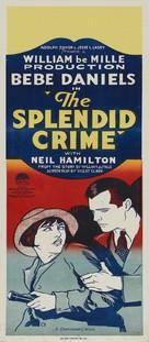 The Splendid Crime - Australian Movie Poster (xs thumbnail)