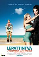 Forgetting Sarah Marshall - Hungarian Movie Poster (xs thumbnail)