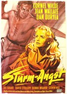 Storm Fear - German Movie Poster (xs thumbnail)