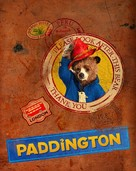Paddington - British Blu-Ray movie cover (xs thumbnail)