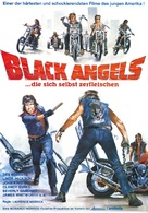 The Black Angels - German Movie Poster (xs thumbnail)
