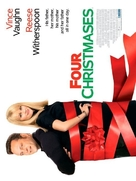 Four Christmases - British Movie Poster (xs thumbnail)