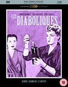 Les diaboliques - British Blu-Ray cover (xs thumbnail)