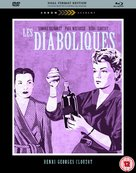 Les diaboliques - British Blu-Ray movie cover (xs thumbnail)