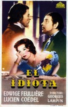 L'idiot - Spanish Movie Poster (xs thumbnail)