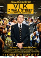 The Wolf of Wall Street - Czech Movie Poster (xs thumbnail)