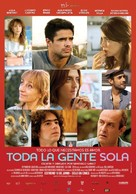 Toda la gente sola - Argentinian Movie Poster (xs thumbnail)