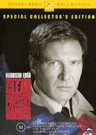 Clear and Present Danger - Australian DVD movie cover (xs thumbnail)