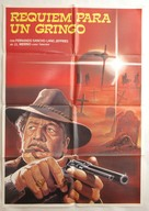 Rèquiem para el gringo - Chilean Movie Poster (xs thumbnail)
