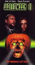 Halloween II - VHS movie cover (xs thumbnail)