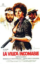 Fatto di sangue fra due uomini per causa di una vedova - si sospettano moventi politici - Spanish Movie Poster (xs thumbnail)