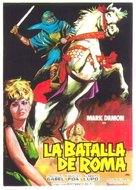 Il figlio di Cleopatra - Spanish Movie Poster (xs thumbnail)