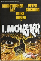 I, Monster - British Movie Poster (xs thumbnail)