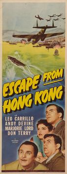 Escape from Hong Kong - Movie Poster (xs thumbnail)