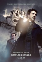 Sherlock Holmes - British Movie Poster (xs thumbnail)