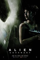 Alien: Covenant - Swiss Movie Poster (xs thumbnail)
