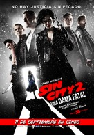 Sin City: A Dame to Kill For - Chilean Movie Poster (xs thumbnail)