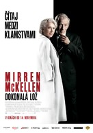 The Good Liar - Slovak Movie Poster (xs thumbnail)