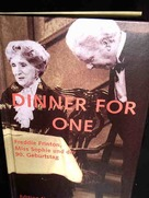 Dinner For One - German poster (xs thumbnail)