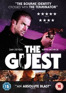 The Guest - British DVD cover (xs thumbnail)