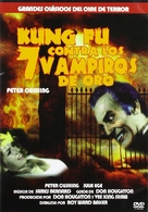 The Legend of the 7 Golden Vampires - Spanish Movie Cover (xs thumbnail)