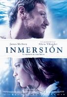 Submergence - Spanish Movie Poster (xs thumbnail)