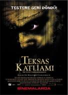 The Texas Chainsaw Massacre - Turkish Movie Poster (xs thumbnail)