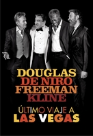 Last Vegas - Argentinian DVD cover (xs thumbnail)