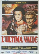 The Last Valley - Italian Movie Poster (xs thumbnail)