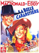 The Girl of the Golden West - French Movie Poster (xs thumbnail)
