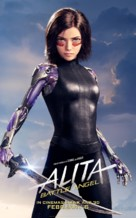 Alita: Battle Angel - British Movie Poster (xs thumbnail)