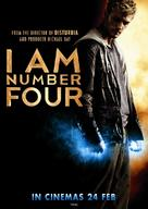 I Am Number Four - Singaporean Movie Poster (xs thumbnail)