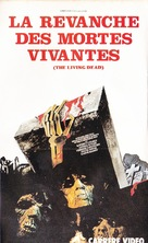 La revanche des mortes vivantes - French VHS cover (xs thumbnail)