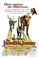 The Incredible Journey - Movie Poster (xs thumbnail)