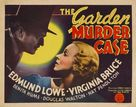 The Garden Murder Case - Movie Poster (xs thumbnail)