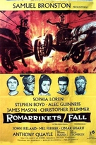 The Fall of the Roman Empire - Swedish Movie Poster (xs thumbnail)