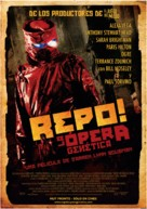 Repo! The Genetic Opera - Chilean Movie Poster (xs thumbnail)