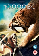 10,000 BC - British DVD cover (xs thumbnail)
