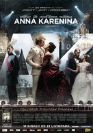 Anna Karenina - Polish Movie Poster (xs thumbnail)