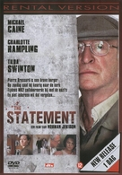 The Statement - Dutch Movie Cover (xs thumbnail)