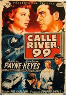 99 River Street - Spanish Movie Poster (xs thumbnail)