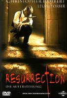 Resurrection - German DVD movie cover (xs thumbnail)