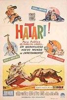 Hatari! - Argentinian Movie Poster (xs thumbnail)