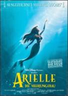 The Little Mermaid - German Movie Poster (xs thumbnail)