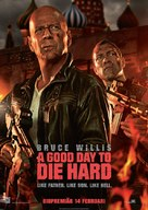 A Good Day to Die Hard - Swedish Movie Poster (xs thumbnail)