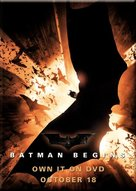 Batman Begins - Video release movie poster (xs thumbnail)