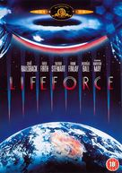 Lifeforce - British DVD movie cover (xs thumbnail)