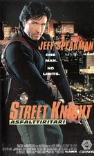 Street Knight - Finnish Movie Cover (xs thumbnail)